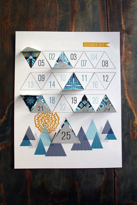 JHill Design modern Advent Calendar