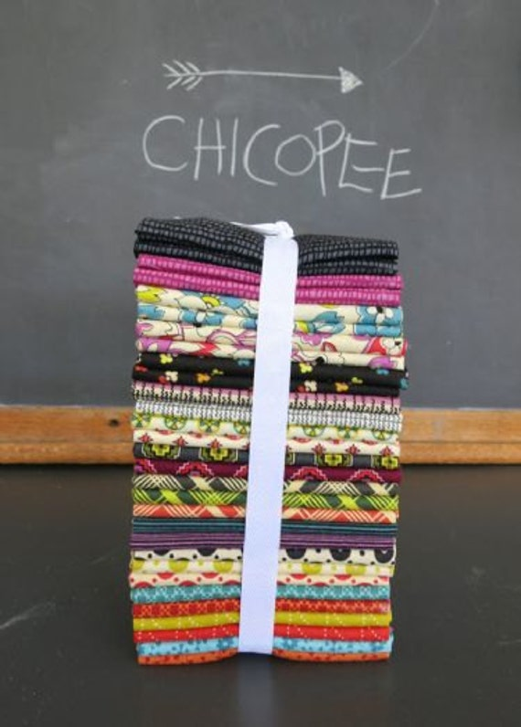 Chicopee fat quarter bundle--26 pieces---6-1/2 yards total--Denyse Schmidt for Free Spirit Fabrics