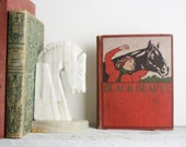Antique Book - Black Beauty - 1897 - Vintage - shavingkitsuppplies