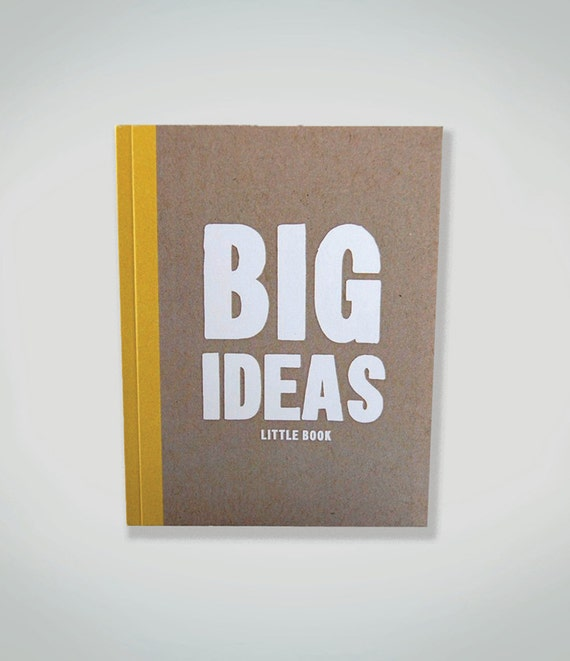 little notebook :  BIG ideas little book