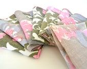 Vintage Vera Neumann - Set of Eight Dinner Napkins - DearOldLove