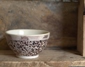 Small Rustic Porcelain Bowl - peifferStudios