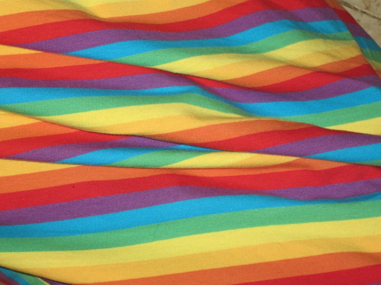 Comic strip cotton lycra knit fabric