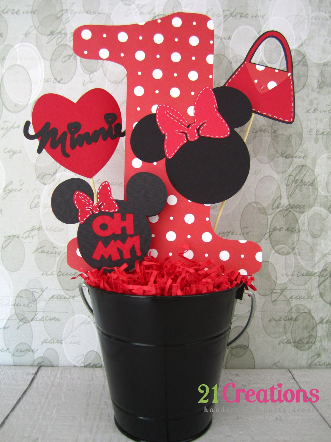 Images about minnie mouse birthday party on