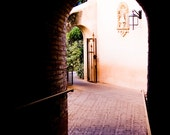 Through the Archway.  Tuscan Style Architectural Fine Art 8x12, 8x10 or 8x8 Photograph - kmbphoto