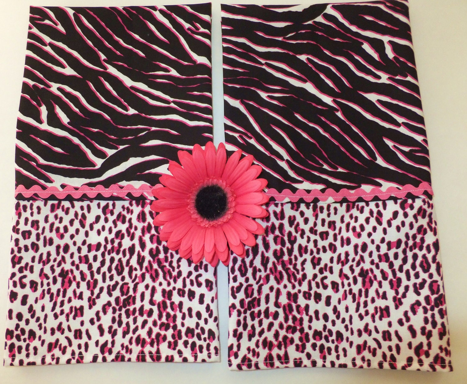 Set of 2 Wild Thing Animal Print Dish Towels by juliegalbraith