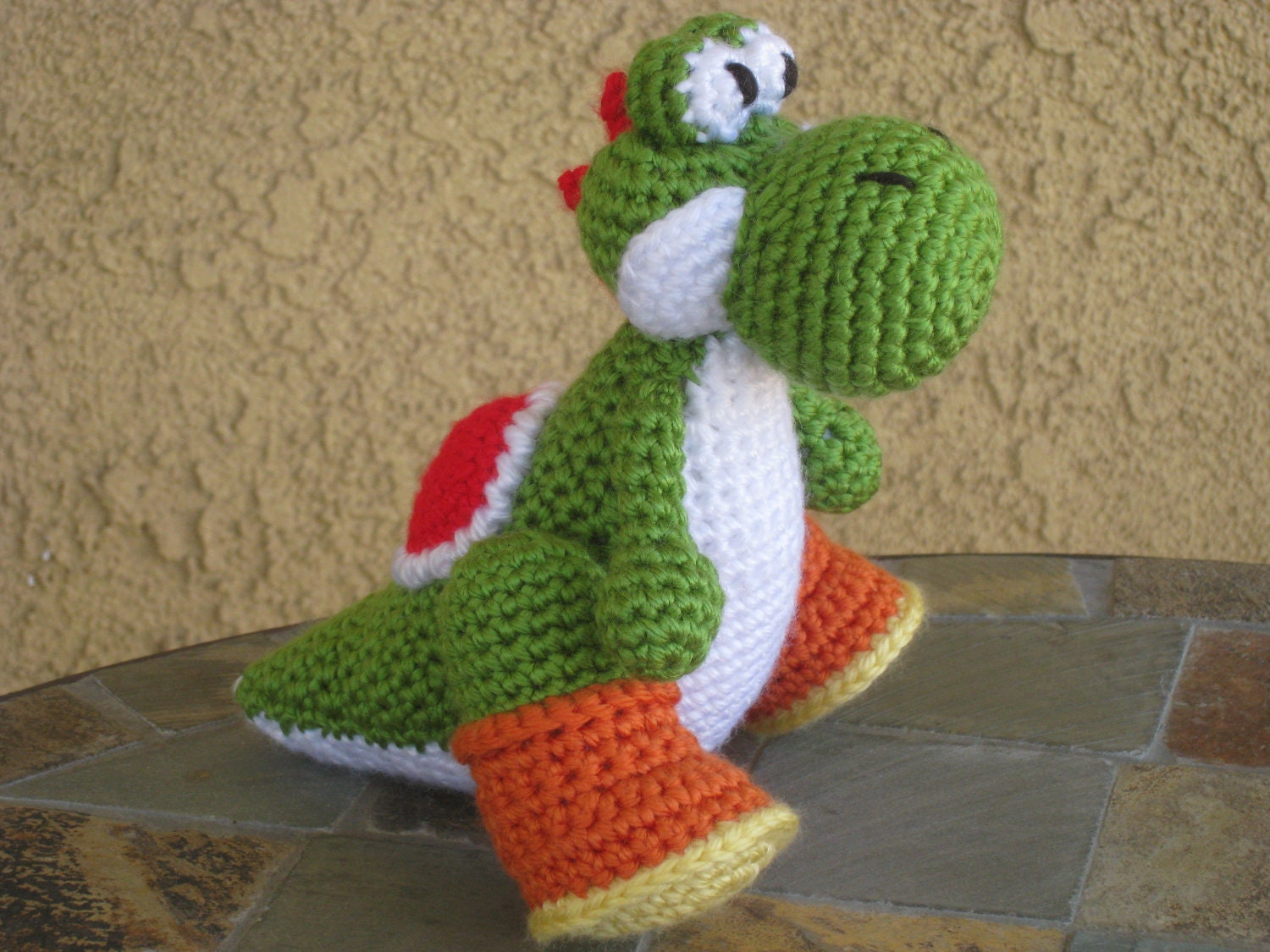 Crochet Patterns Yoshi : yoshi crochet pattern