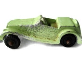 Vintage Midget Toy Diecast Car Green Roadster - WeeLambieVintage