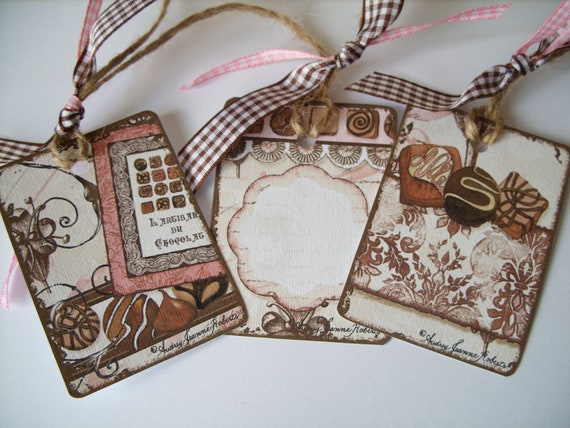 Gift Tags - Sweet Chocolate - Pack of 3