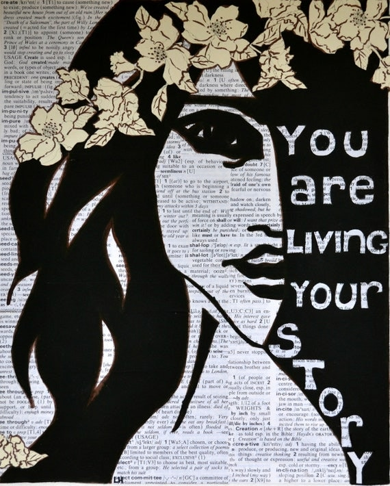 Mixed-Media: You Are Living Your Story