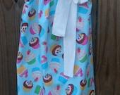 Sweet Cupcakes Pillowcase Dress