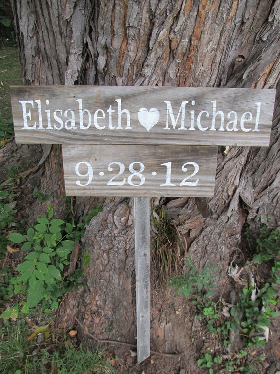 bride heart groom wedding sign etsy