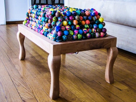 Super Bouncy Ball Ottoman Foot Rest