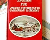 Vintage 1930s Childrens/Young Adults Christmas Story Book - Home For ...