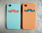 Color Mustache Iphone 4 4s Case Cover - More Case Color - HiStyle