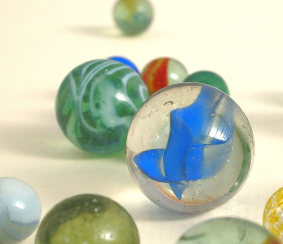 Vintage Glass Marbles