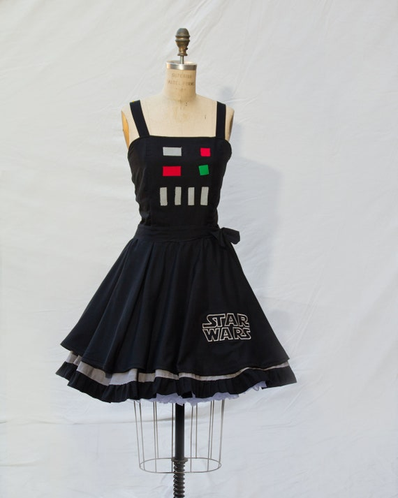 Darth Vader Star Wars Retro Style Dress