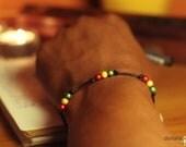 Rasta Pearls Bracelet