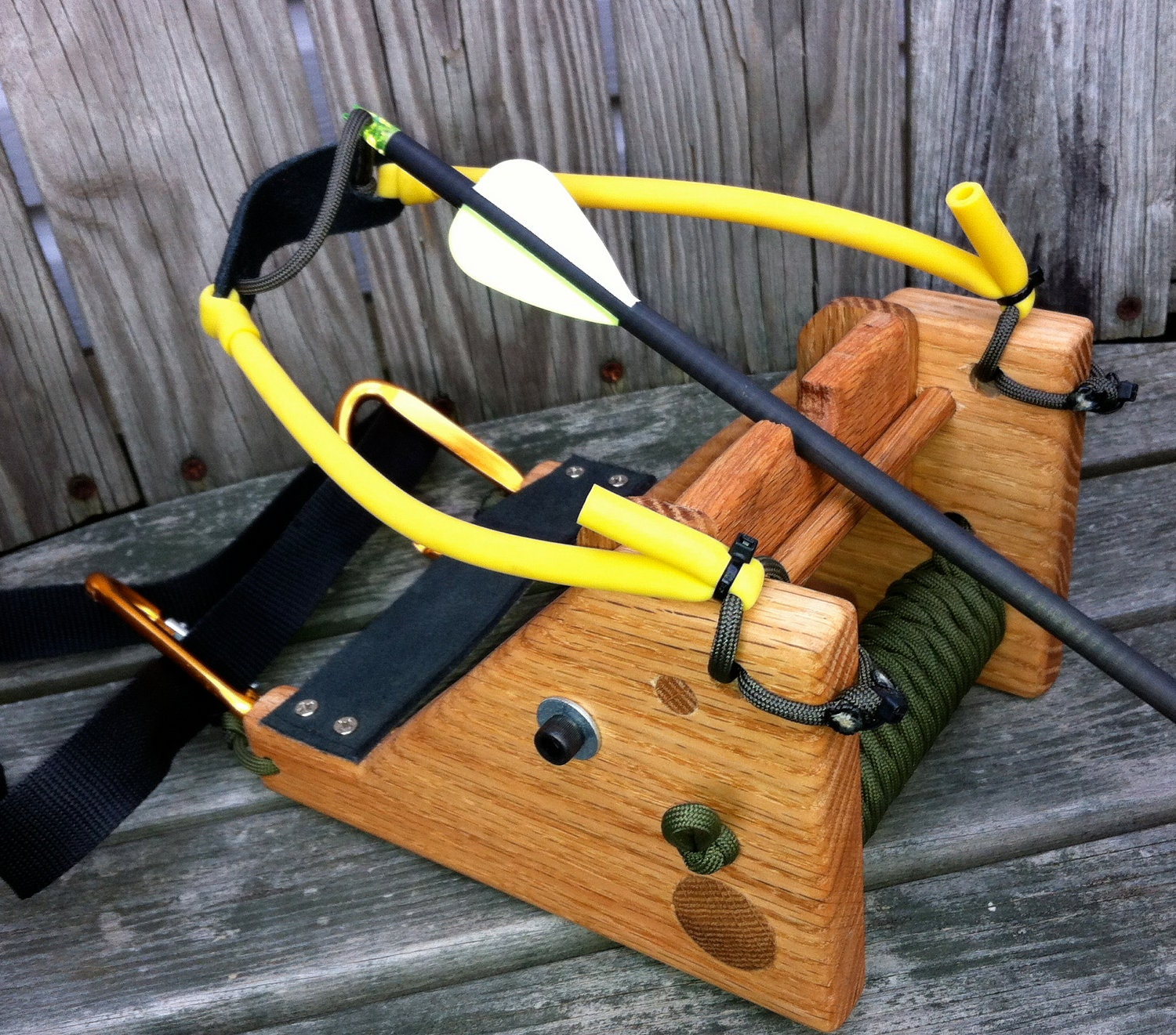 The Fox Slingbow Slingshot Hunting System Bowhunting