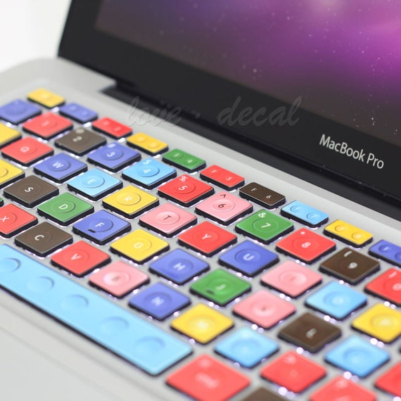 "Legos keyboard decal mac pro decals mac pro stickers decals stickers Apple Mac Decal keyboard decals keyboard sticker13"" 15"" 17"""