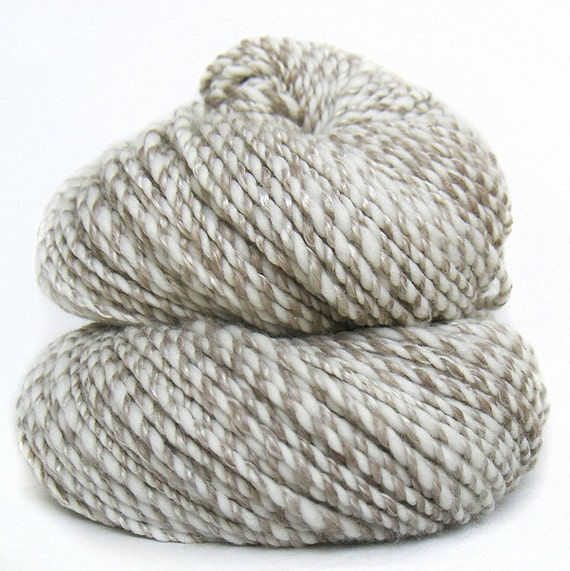 Handspun Yarn cashmere silk and superfine Merino wool