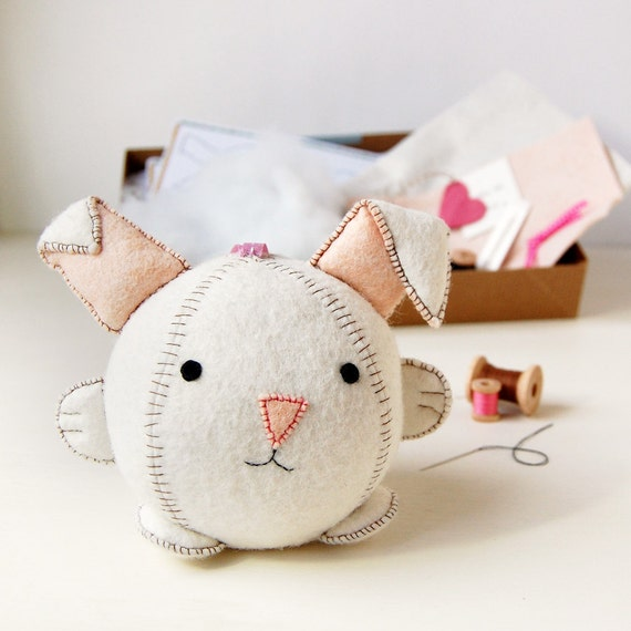 Make Your Own Rabbit Toy Craft Kit - Sewing Kit