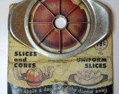 SALE -- Vintage Apple Slicer by Ludwig Mfg. Co.