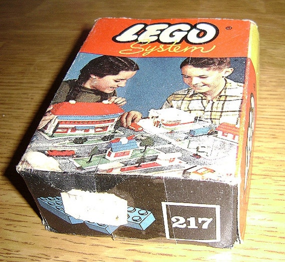 vintage plastic lego set