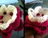Floating Petal Flower crochet tutorial pattern