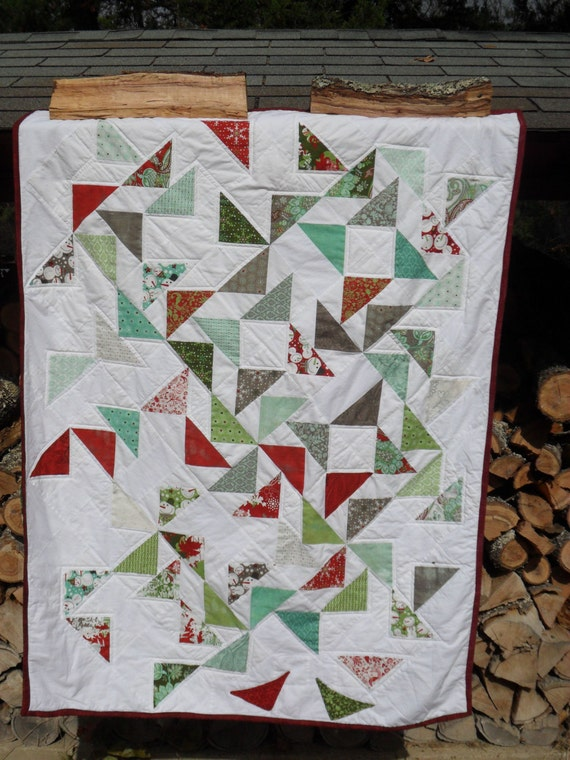 Fly South, charm pack quilt or throw pattern
