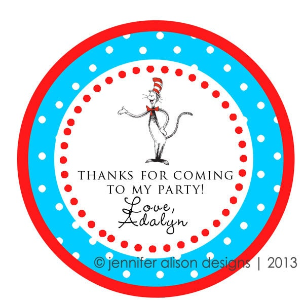 Dr Seuss Personalized Birthday Invitations for perfect invitation ideas