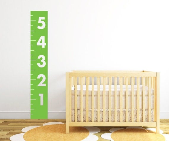 Child Wall Decal - Growth Chart Decal