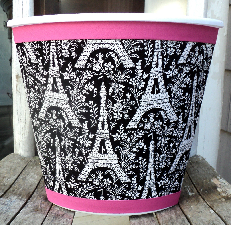 Paris Wastebasket Michael Miller Eiffel Tower Child Baby