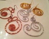 CHOOSE your Bangin Beauties  hammered aluminum earrings