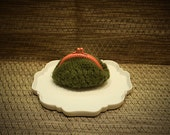 Green and pink coin purse
