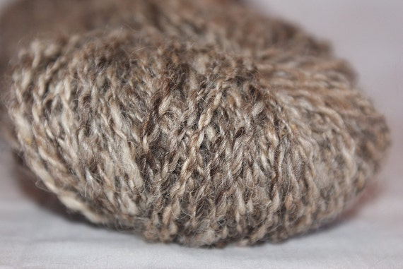 "Wool Handspun Yarn ""Granite"""
