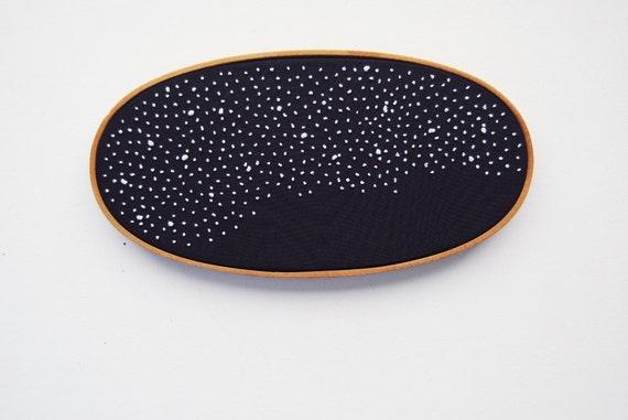 Galaxy Embroidery Hoop Art
