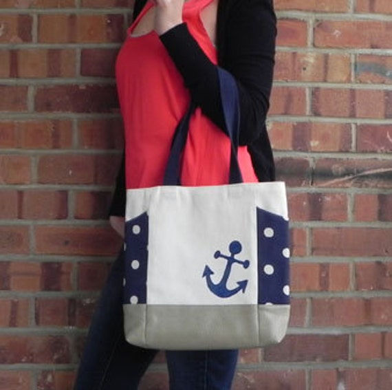 nautical handbag