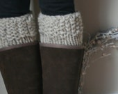 Boot-Leg Warmers in Oatmeal//The Polar Boot Warmers - grizzlie