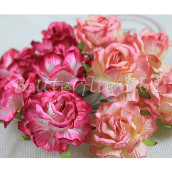 Handmade mulberry paper flowers thailand mightylinksfo Gallery