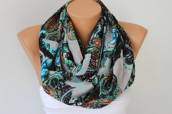 infinity scarf ,circle scarf,Loop scarf /necklace scarf/  scarf