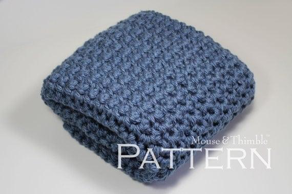 Best Bulky Yarn For Baby Blanketngle Crochet Baby Blanket Pattern