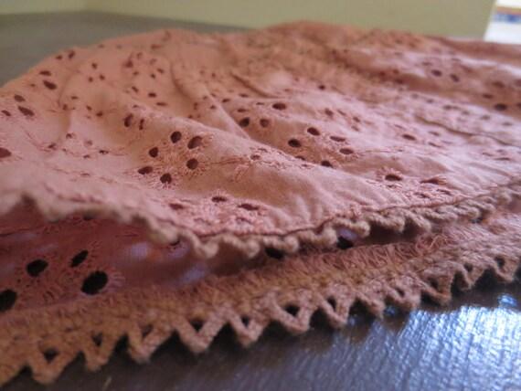 Rose Blush Skirt - American Girl Doll Handmade Clothing