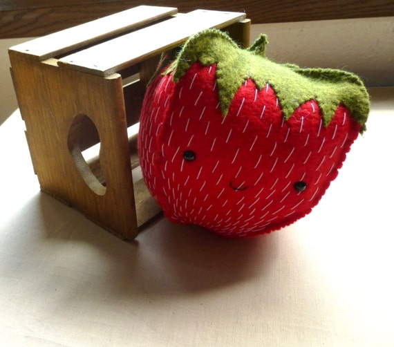 Felt Kawaii Strawberry