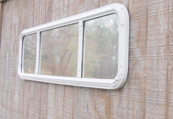 Shabby Chic/Cottage Decor Handpainted Wall Mirror