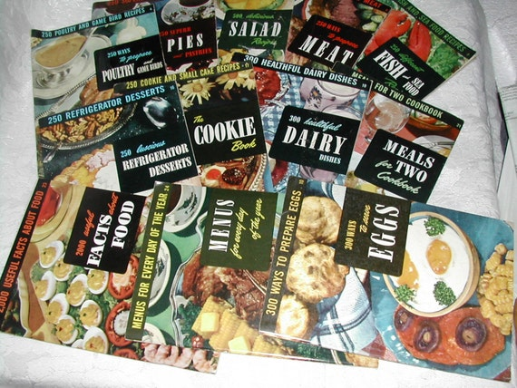 CIA Cook Books Vintage 1950s
