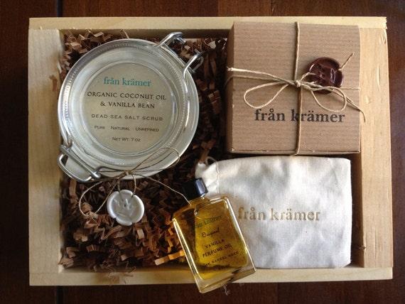 Organic VANILLA LOVERS Gift Crate