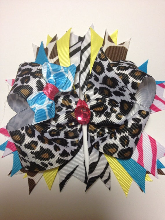 Bright animal bow
