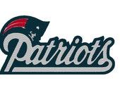New England Patriots Embroidery File (1), Patriots Embroidery Pattern, New England Football Embroidery