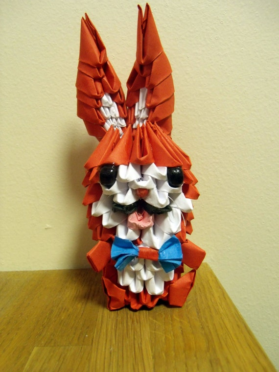 Easy Origami Rabbit | 760x570